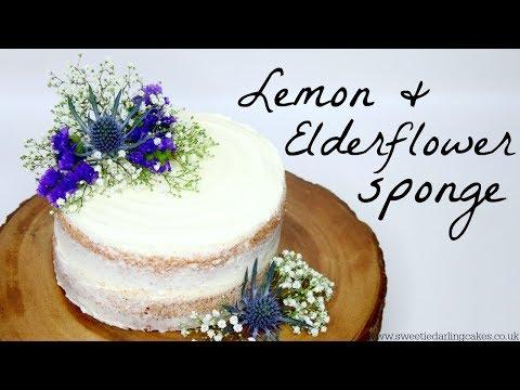 How to make Lemon and Elderflower Cake