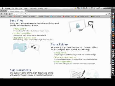 How to Send Huge Files and Videos for Free! Email using YouSendit
