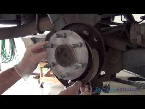 Parking Brake Shoe Replacement Chevrolet Tahoe, Suburban 2000-2013