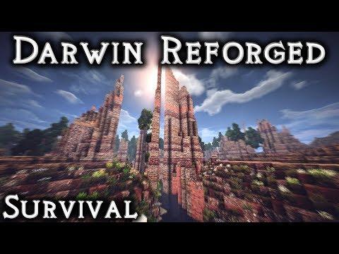 Darwin Reforged Survival: Ep1 - Bilberrydale (Live Stream)