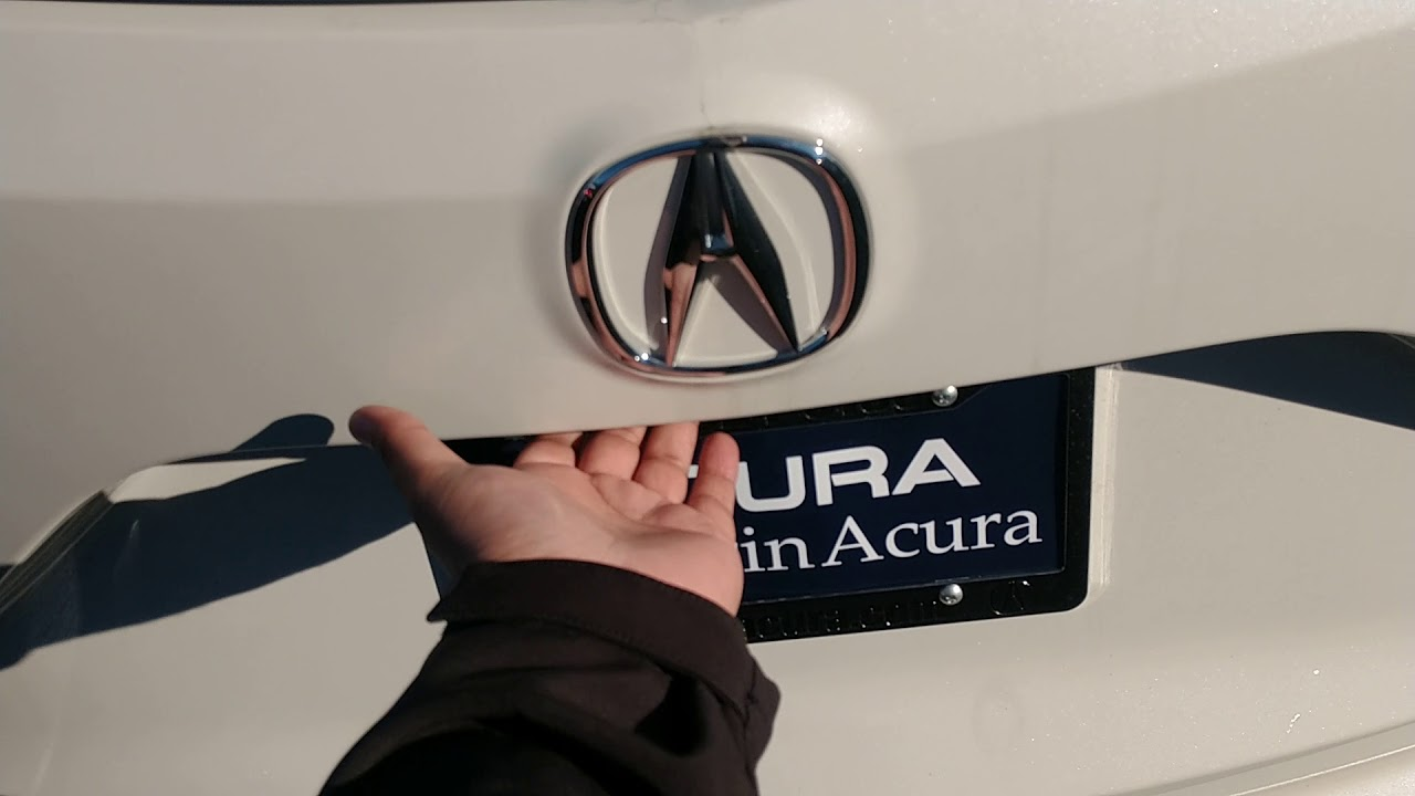 How to tell if your 2019 Acura RDX has a spare tire or not.  MS