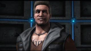 Mortal Kombat X - Johnny Cage All Interaction Dialogues