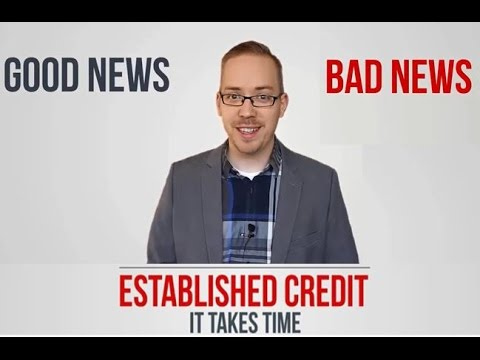Established Credit - It takes time to have good credit
