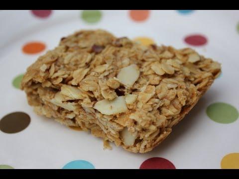 Peanut Butter Granola Bar Recipe