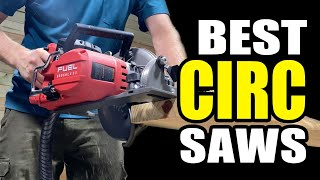 Best Cordless Circular Saws | 11 Flagship Sidewinder and Rear Handles Tested Head to Head