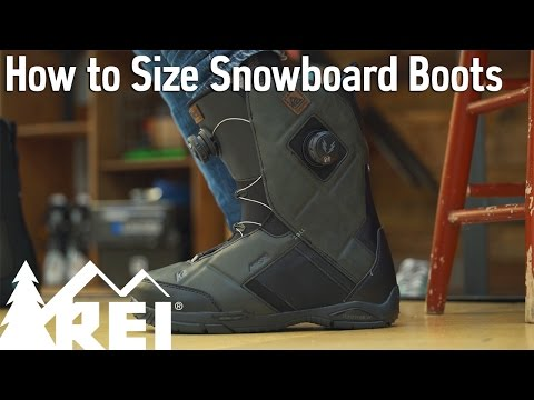 Snowboarding: How to Size Snowboard Boots