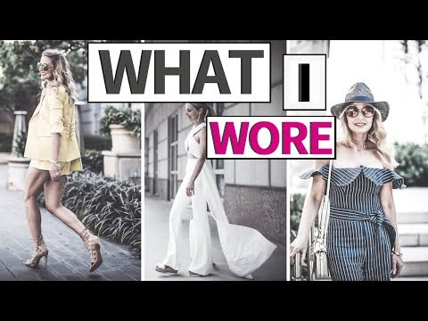WHAT I WORE | Reward Style Blogger Conference 2018