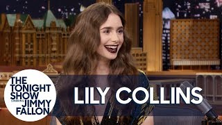 Lily Collins' Family Fell for Her Pregnancy Prank