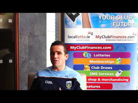 Former Dublin Football Star, Ger Brennan on the MyClubFinances.com system.
