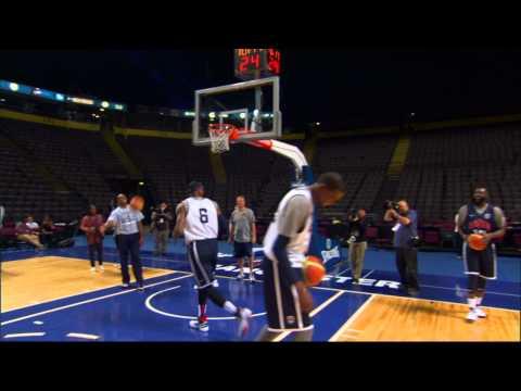 Trick Shot: LeBron's