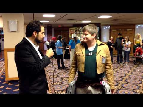 Hal-Con 2013 Interviews: Three Dimensional Maneuver Gear (Attack on Titan)