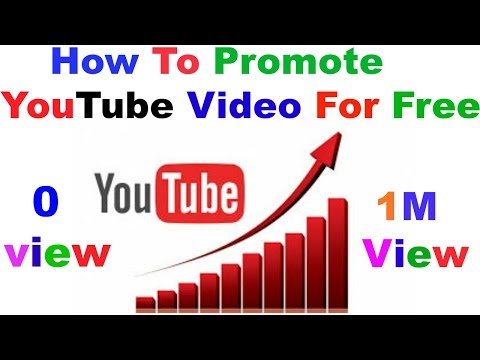 Best Trick How To Promote YouTube Videos For Free and Paid increase view