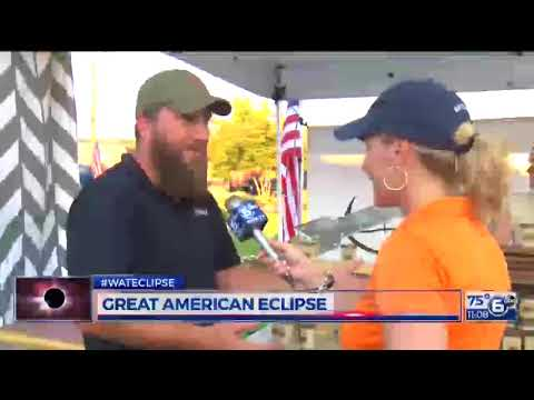 Who traveled the longest to the eclipse in Sweetwater?