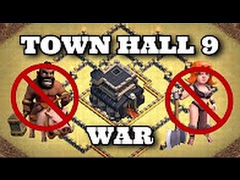 TH 9 (TOWN HALL 9) ANTI 2 STARS WAR BASE