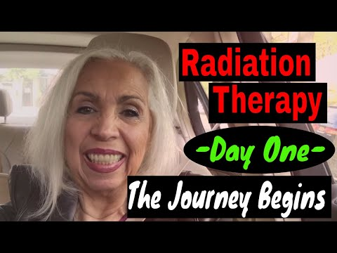 Radiation Treatment For Sarcoma - Day 1 - The Journey Begins