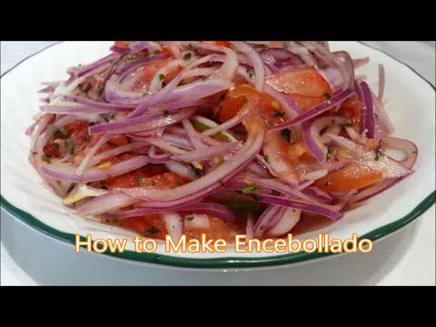 How to Make Encebollado (Onion and Tomato Salsa)
