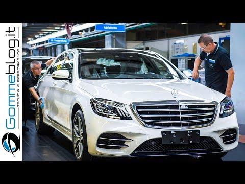 2018 Mercedes S-Class CAR FACTORY Production & Autonomous Test Drive