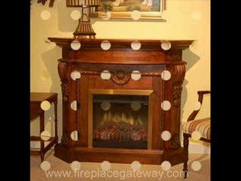 Exclusive Electric Fireplace Mantel Packages