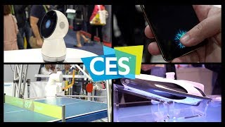 CES 2018: Ping-Pong Robot, In-Display Fingerprint Sensor, and More!