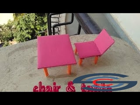 The best Videos - how to make paper & cardboard chair & table - toy for kids story game
