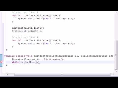 Intermediate Java Tutorial - 5 - ArrayList Program