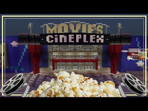Massive Cineplex Movie Theater (Minecraft Xbox)