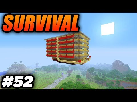 THE MEGA MOB GRINDER! - Minecraft Survival: Episode 52