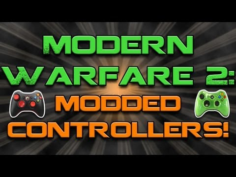 Modern Warfare 2 | Modded Controllers (FAL Destruction on Terminal)