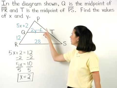 Midsegment of a Triangle | MathHelp.com
