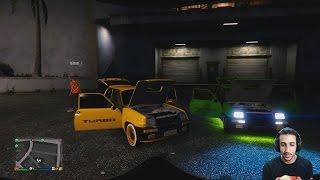 #x202b;إستعراض السيارة الكلاسيكة  Grand Theft Auto V Pc Maroc | Renault 5#x202c;lrm;