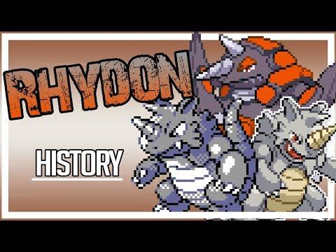 How has RHYDON EVOLVED? - History (Gen 1-7)