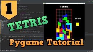 Pygame Tutorial - Creating Tetris
