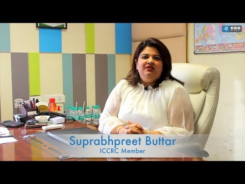 Short Message from Ms. Suprabhpreet Buttar - ICCRC Member, Canada
