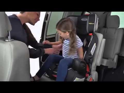 Graco Nautilus With Safety Surround Car Seat Installation