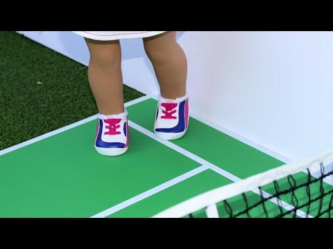 DIY American Girl Doll Tennis Court