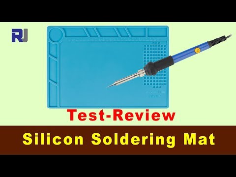 Test Review of Silicon Soldering mat