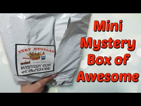 Mini Mystery Box of Awesome - May 2018!