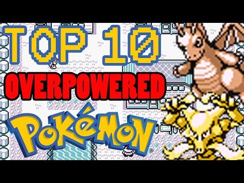 Top 10 Overpowered Generation 1 Pokemon