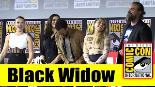 BLACK WIDOW | 2019 Marvel Comic Con Panel (Scarlett Johansson, Rachel Weisz, David Harbour)