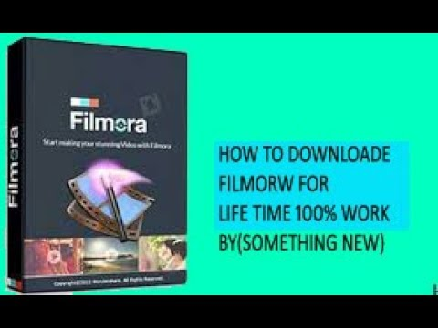 downloade FILMOAR video eadting software with lince kye for life 100% working  HINDI/ SOMETHING NEW