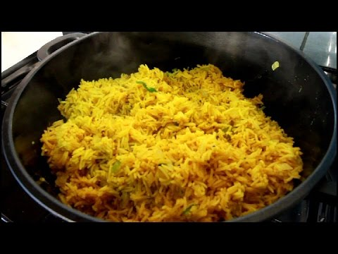 Jamaican Spicy Curry Rice Recipe | Recipes By Chef Ricardo