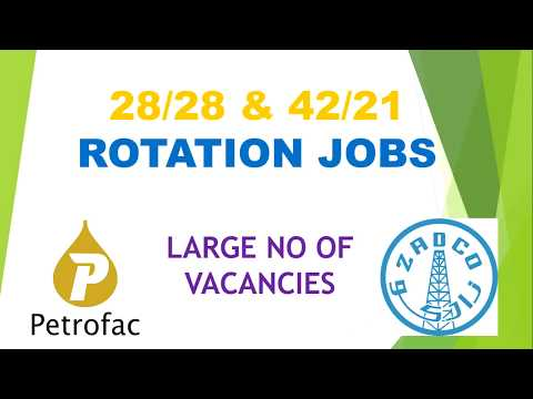 ABUDHABI OFFSHORE ON OFF ROTATION JOB INTERVIEW