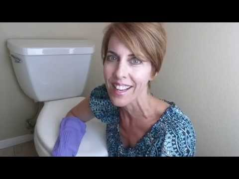 How to clean toilet bowl ring without harsh chemicals