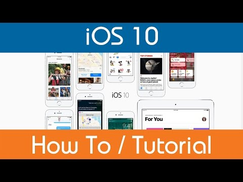 How To Disable Location Services - iOS 10