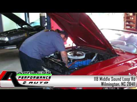 Rackley's Performance & Auto Video | Automotive Services in Wilmington