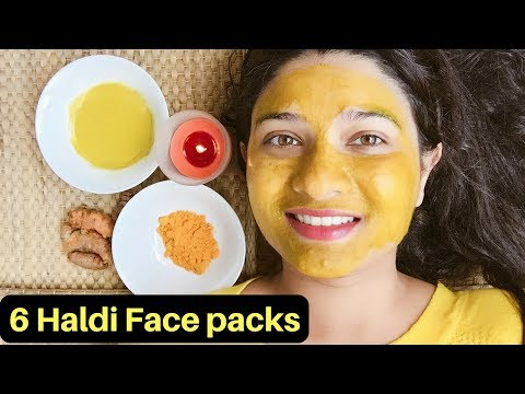 100% Natural Haldi (Turmeric) face packs in Hindi | Haldi face mask | Turmeric benefits | AVNI