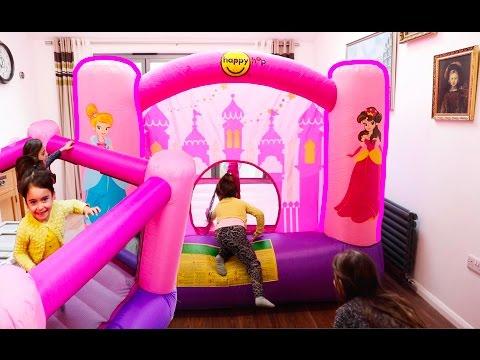 Princess Bouncy Castle- Fun Activities for Kids!