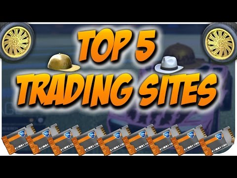 TOP 5 - MOST AMAZING TRADING SITES (PC/PS4/Xbox) - Rocket League