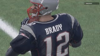 EPIC FINISH DOWN TO LAST PLAY! SUPER BOWL 51 REMATCH! Falcons vs Patriots! Madden 18 Online Gameplay