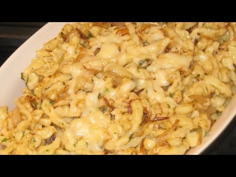 Kasespatzle Spaetzle Cheese Noodles | HOW TO MAKE RECIPES EASY WAY